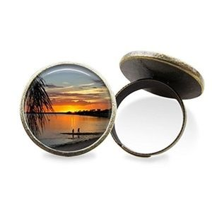 Tropical Sunset Ring